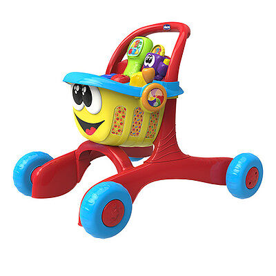 New Chicco Happy Shopping 3 in 1 Trolley