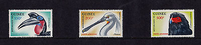 Guinea - 1962 Birds - 100f-500f (Air) - U/M - SG 361-3