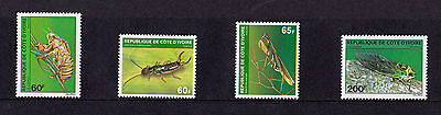 Ivory Coast - 1980 Insects (3rd Series) - U/M - SG 649-52