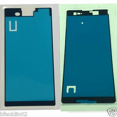 Sony Xperia T2 T3 ZR Front Frame Housing LCD Display Sticker Adhesive Glue Tape