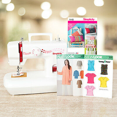 New SIMPLICITY Lace 29 Sewing Machine PLUS 3 FREE Patterns & FREE Delivery