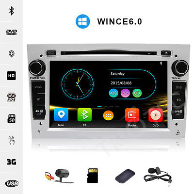 Car Stereo RDS DVD Player GPS Bluetooth 3G Vauxhall Opel Astra H/Combo/Zafira UK