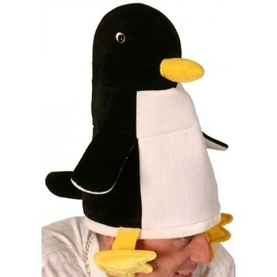 Penguin with Legs Novelty Hat Fancy Dress Adult One Size