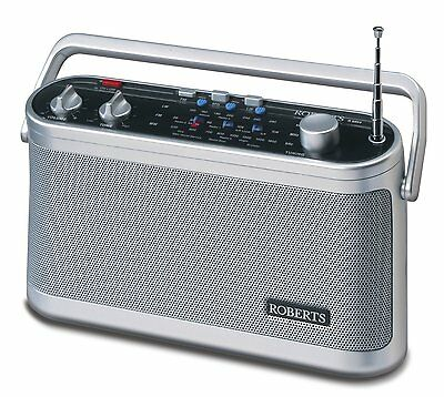 New Roberts Classic R9954 FM/MW/LW 3 Band  Portable Radio Mains Or Battery