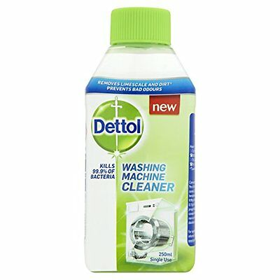 Dettol Washing Machine Cleaner 250ml Kills 99.9% of Bacteria Limescale Remover