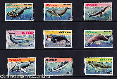 Niue - 1983 Protect The Whales - U/M - SG 487-95