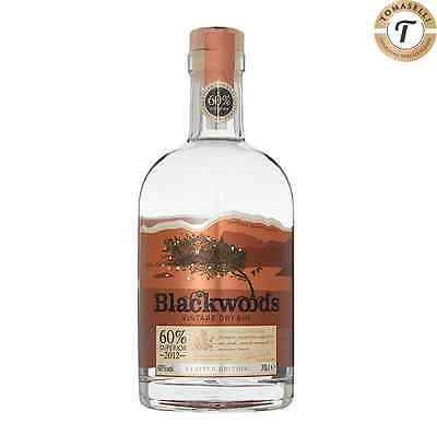 Blackwood's Vintage Dry Gin 70 CL Vol 60% Superior Limited Edition Blackwoods
