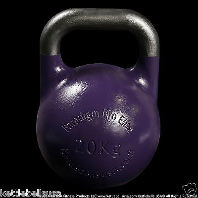 20 kg-44 lb Paradigm Pro ELITE Precision Competition Kettlebell *FREE SHIPPING*