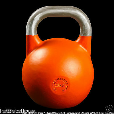 28 kg-62 lb Paradigm Pro Classic Competition Sport Kettlebell *FREE SHIPPING*