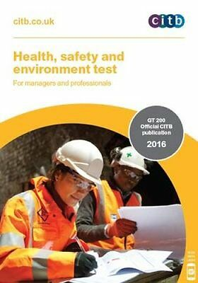 Health, Safety and Environment Test for Managers and Profession... 9781857514339