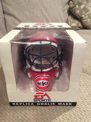 NHL Montreal Canadiens Collectables EA Sports Replica Goalie Mask