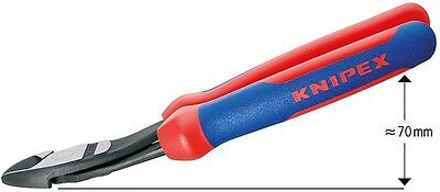 Knipex 7422200 8-Inch High Leverage Diagonal Cutter - Comfort Grip