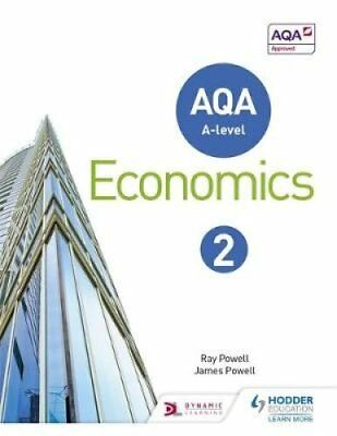 AQA A-Level Economics: Book 2 by Ray Powell 9781471829840 (Paperback, 2016)