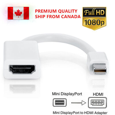 Mini Display Port Thunderbolt DP To HDMI Adapter Cable For Macbook Pro Air XPS13