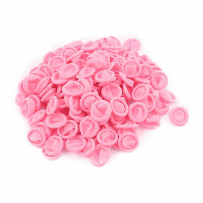 200Pcs Finger Protector Anti Static Rubber Latex Finger Cots Disposable Pink