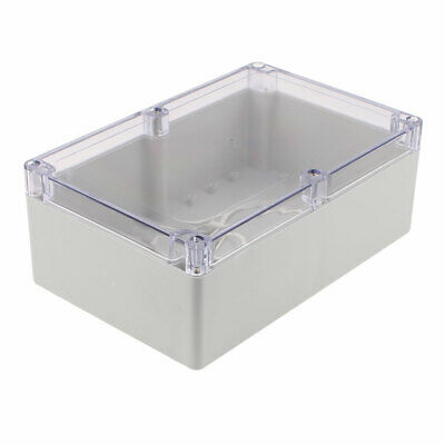 230x150x87mm Transparent Cover Dustproof IP65 Junction Box Terminal Enclosure