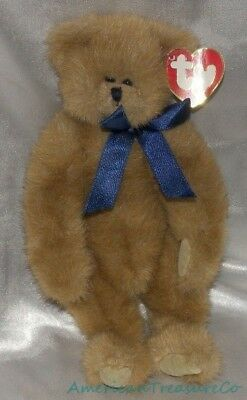 New Rare 1993 TY ATTIC Plush Honey Brown Jointed Malcolm The Bear White Tush Tag
