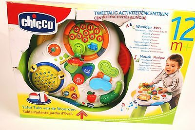 Chicco Garden Activity Table In French and Dutch
