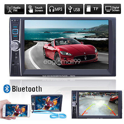 6.6'' Phone Mirroring Bluetooth Touch Auto Radio Stereo MP4 USB/AUX/Remoto 2 DIN