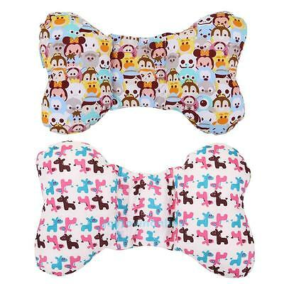 Cute Baby Infant Newborn Anti Roll Pillow Sleep Positioner Prevent Flat Head NEW