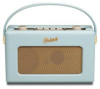 New Roberts RD60  Duck Egg Blue Revival  FM/DAB/DAB+  Radio - 50's Retro -