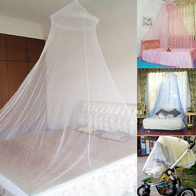 3 Colors Elegant Round Lace Insect Bed Canopy Netting Curtain Dome Mosquito Net