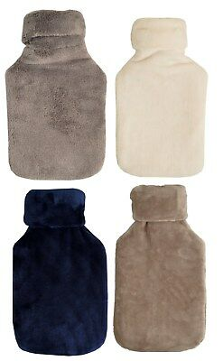 Vagabond 2.0L Plush Hot Water Bottle & Cover