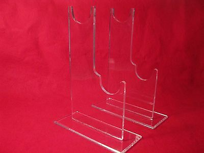 Premium Grade Double Civil War Musket Firearms Rifle  Collectibles Display stand