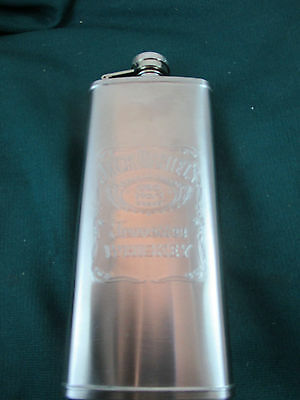 Jack Daniels Tennessee Whiskey Old No. 7 Brand  5 Oz Stainless Steel Flask