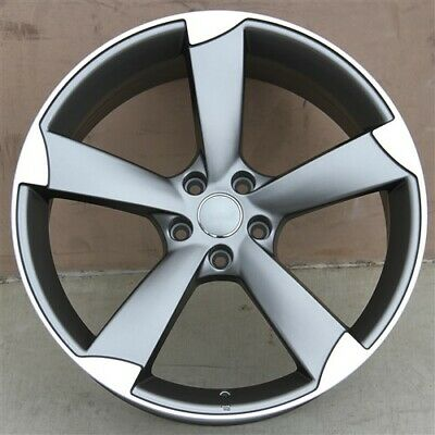 """Set(4) 20"""" 20x9 5X112 +35 WHEELS & TIRES PACKAGE AUDI RS4 RS6 RS7 SQ5 A8 A5 A7"""