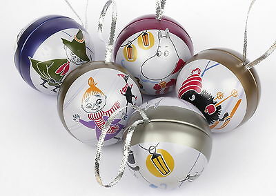 Moomin Bauble Martinex Set of 5