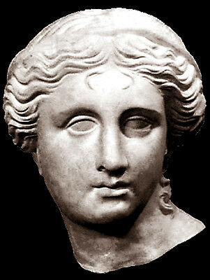 Ancient Greek Sculpture Aphrodite of Satalla The Goddess of Love and Beauty.