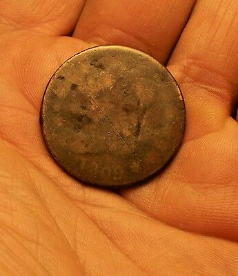 """+++  """"key Date""""  1809 Us Large Cent  Early Copper Penny  Rare  +++"""