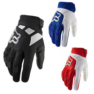 New Unisex Comfy Sports Full Finger Glove MTB Bicycle Motorcycle Cycling Gloves