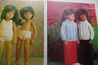 SASHA  DOLLS KNITTING SEWING CRAFT PATTERNS CLOTHES projects