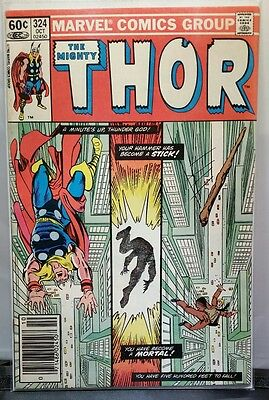 The Mighty Thor #324 Marvel Comics  Fn+ Bronze Age