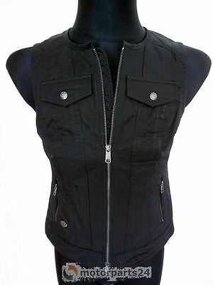 Harley Davidson Esencial Club Mujer Chaleco negro 98580-17VW S