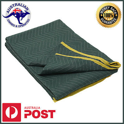 10 x Furniture Moving Blanket Removalist Pads Quilted Padded Burlap Pad
