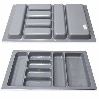 Quality Plastic Cutlery Trays Kitchen Drawers Organiser Blum Tandembox 800mm