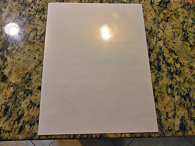 Vinyl Sample Pack - Glossy/Matte/Overlaminate - 6 sheets (8.5in x 11in sheets)