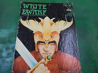 White Dwarf role playing monthly issue 34 - Oct 1982