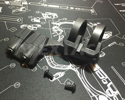 Multi Offset Flashlight Mount for 0.75 to 1.03 dia & Scout Light - (BK/RHS)