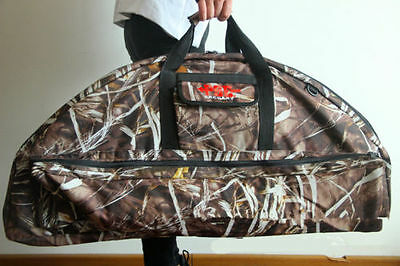 Camouflage Hunting Archery Bow Backpack Compound Bow Crossbow Case Holder Bag
