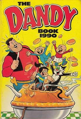 The Dandy Book 1990 - D C Thomson - Good - Hardcover
