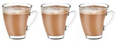 6x Coffee latte Glasses mugs 250ml VD-6 professional use