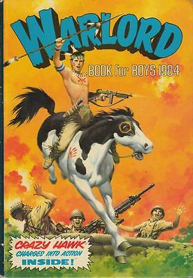 Warlord Book for Boys 1984 - D C Thomson - D C Thomson - Acceptable - Hardcover