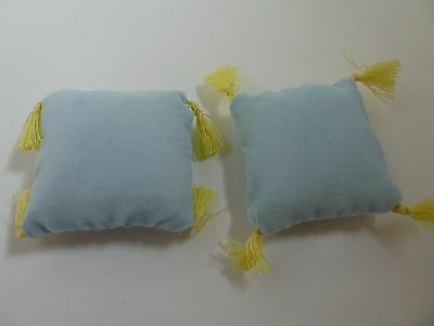 Dolls House Emporium Miniature 1:12 Scale Lounge Pale Blue Cushions