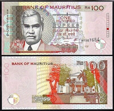 Mauritius 100 Rupees 2009 Uncirculated