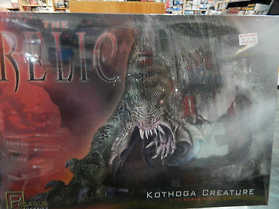 The Relic Kothoga Creature 1/12th scale plastic model kit by Pegasus Hobbies