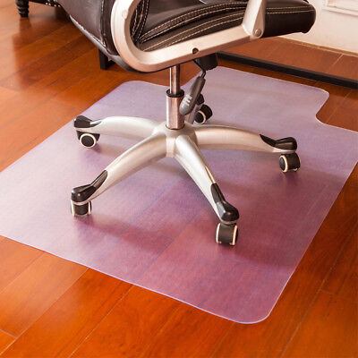 Office Chair Mat for Hard Wood Floor Protector 90 x 120cm  Heavy Duty Vinyl